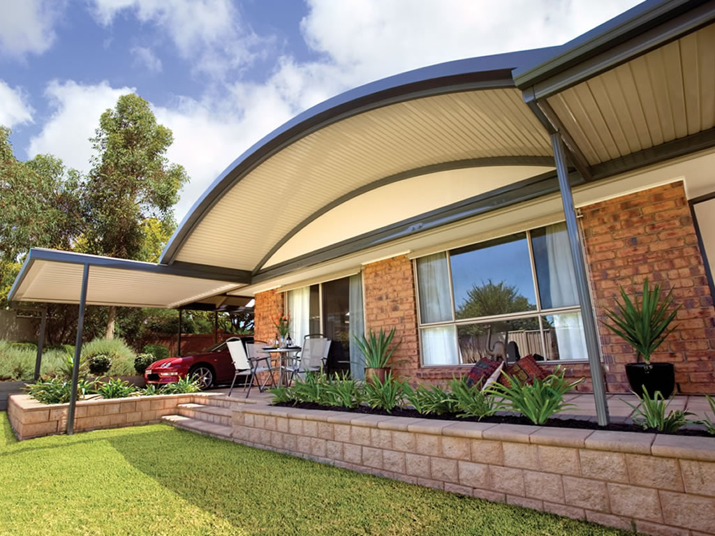 Curved Roof