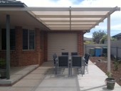 Outback Pergola with shadecloth