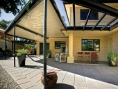 Outback Flat roof and open pergola